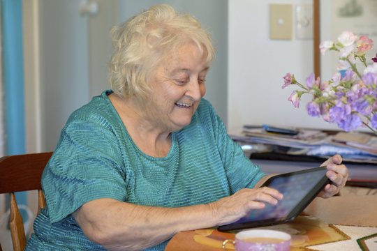 Supporting people with dementia using technology
